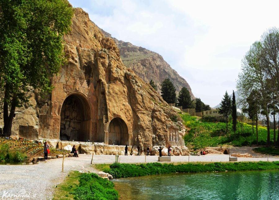 اجاره سوئیت در طاق بستان کرمانشاه
