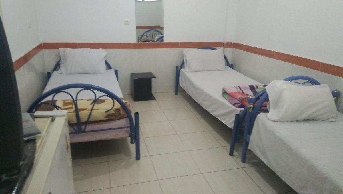 اتاق سه تخته بدون سرویس در جوانرود
