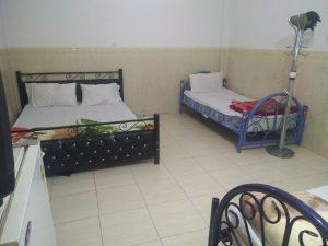 اتاق چهارتخته سرویس دار با تخت دوبل مناسب خانواده